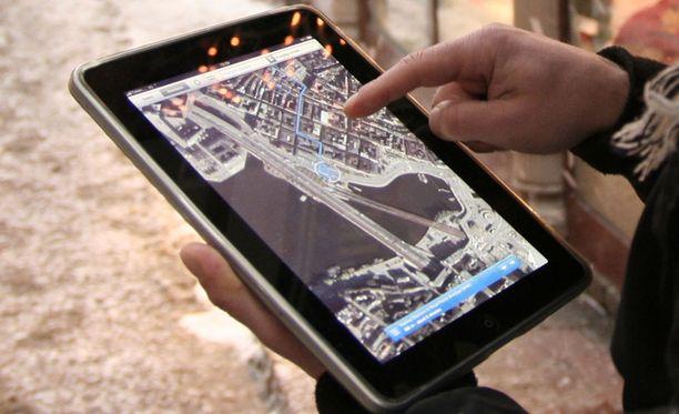 """iPadit maksavat normaalisti noin 500 euroa. Wein itse tehty """"iPadi"""" maksaa noin 60 euroa."""