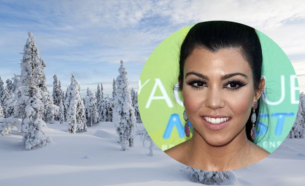 Kourtney Kardashianin keväisestä Lapin-lomasta on tihkunut lisää tietoja.