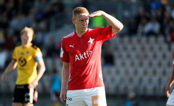 Mikael Forssell teki HIFK:n ainoan maalin.