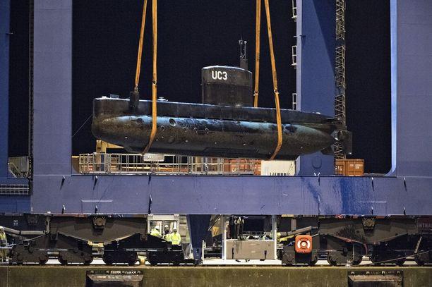 Madsenin Nautilus-sukellusveneestä löytyi huomattava määrä Kim Wallin verta.