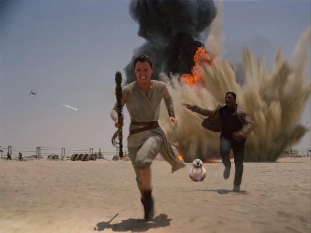 Uusin Tähtien sota -elokuva tuli elokuvateattereihin keskiviikkona.