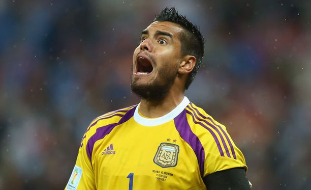 Lisämotivaatio auttoi Sergio Romeroa Hollantia vastaan.