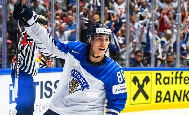 Teuvo Teräväinen laukoi loppulukemat 5-1.