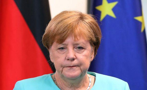 Saksan liittokansleri Angela Merkel ei halua muiden maiden seuraavan Britanniaa.
