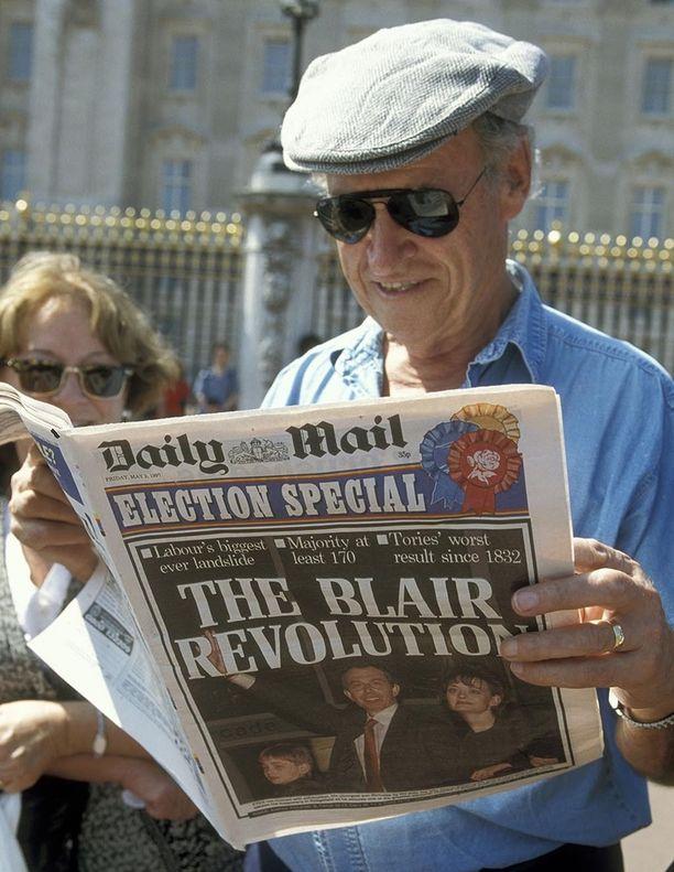 The Blair Revolution. Tony Blairin ensimmäinen vaalivoitto sai aikaan suoranaisen huuman Britanniassa.