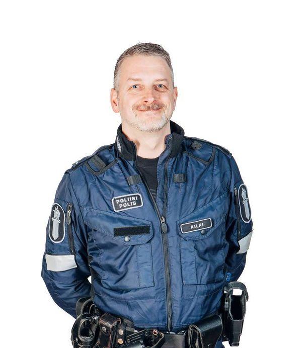 Marko Kilpi on tehnyt poliisin urallaan paljon pr-töitä.