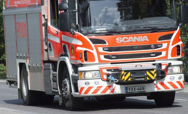 Helsingin Laajasalossa syttyi lauantain ja sunnuntain vastaisena yönä vaarallinen tulipalo, joka vaurioitti huoneistoa. Kuvituskuva