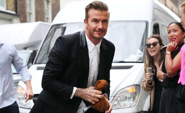 David Beckham käänsi aikanaan katseita myös Suomessa.