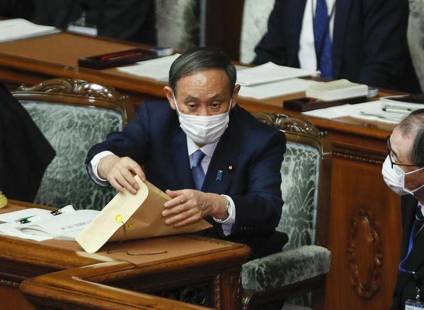 Japanin uusi pääministeri Yoshihide Suga kertoo maan tähtäävän hiilineutraaliuteen vuoteen 2050 mennessä.