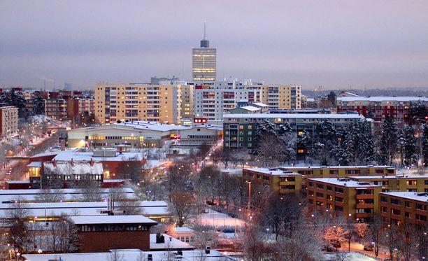 Kaksoispuukotus tapahtui Tukholman Husbyssä.