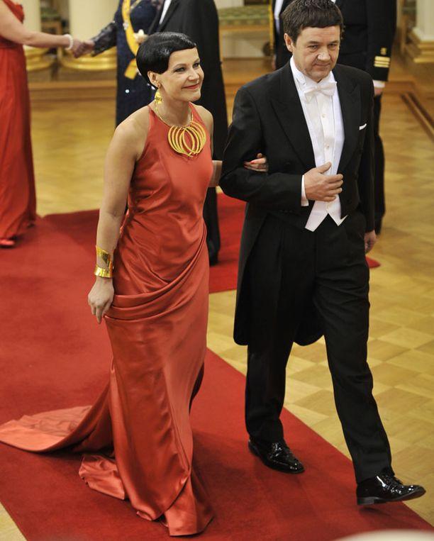 Marja Tiura ja Olli Ainola