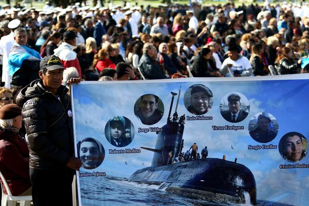 Argentiinassa pidettiin perjantaina muistotilaisuus sukellusveneonnettomuudessa menehtyneille.