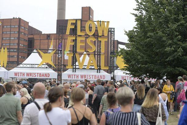 Flow Festival järjestetään Suvilahdessa 10.-12. elokuuta.