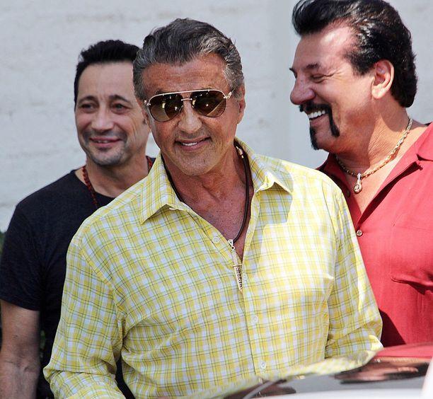 Sylvester Stallone vietti kolme viikon ajat yönsä bussiasemalla.