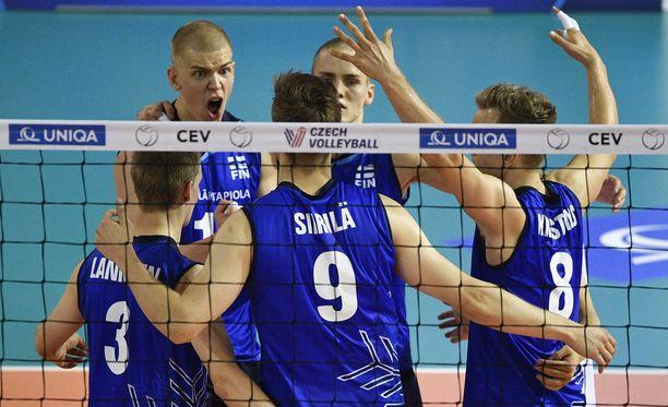 Suomi kaatoi Tanskan vierasottelussa.