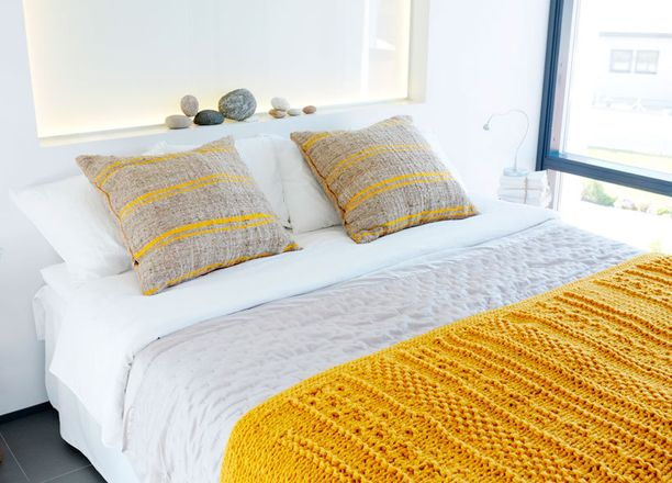 Pirteä keltainen onkin nukkumista edistävä väri.