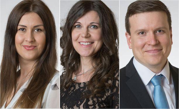 Kolme perussuomalaisten kansanedustajaa sai huomautuksen omalta ryhmältään.