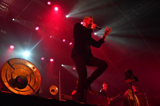 Lauri Tähkä esitti Iskelmä-festivaaleilla suurimmat hittinsä.