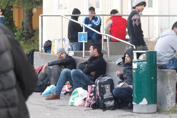 Turvapaikkaa on hakenut Suomesta tänä syksynä jopa yli 600 henkilöä päivässä. Viime päivinä hakijoiden määrä on tasaantunut 200-300 kieppeille.