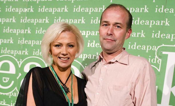 Helena Ahti-Hallberg ja Eric Hallberg.