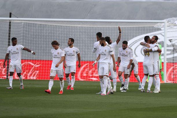 Real Madrid voitti viime sunnuntaina Eibarin 3–1-lukemin.