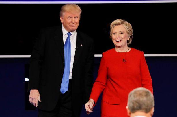 Donald Trump ja Hillary Clinton ovat samaa mieltä edes jostakin.