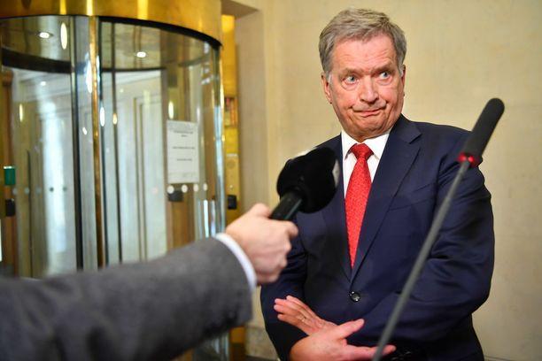 Presidentti Sauli Niinistö kommentoi venäläisdiplomaatin karkotusta maanantaina.