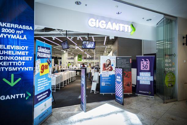 Ostostelu Gigantissa on täysin turvallista, vakuuttaa toimitusjohtaja.