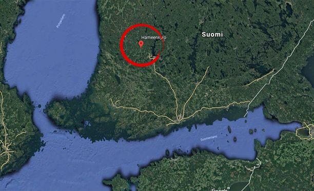 Aki Sulonen katosi Hämeenkyrön Kirkkojärvellä lauantaina.