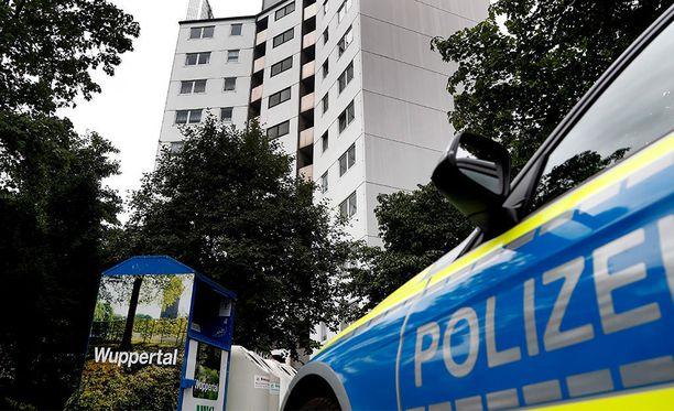 Poliisi Wuppertalissa Saksassa viime vuoden kesäkuussa.