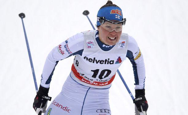 Voimatasoaan kehittänyt Kerttu Niskanen on 6:s Tourilla.