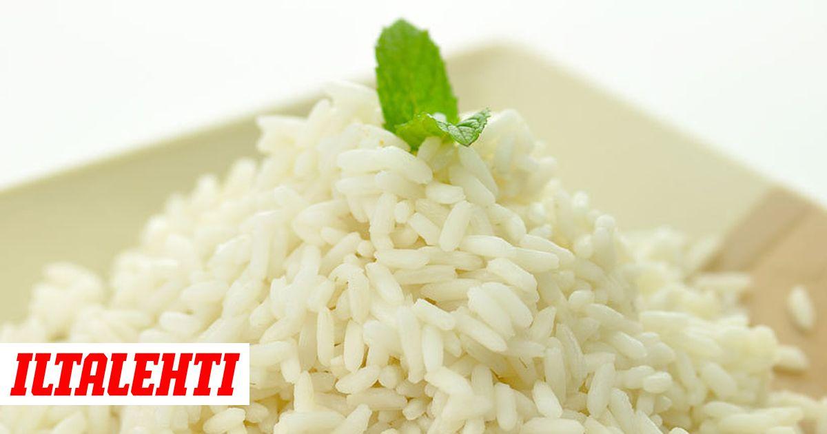 Riisin Uudelleen Lämmittäminen