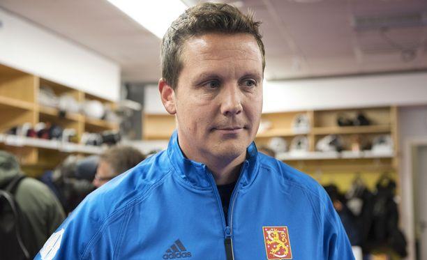 Lauri Marjamäki vaihtoi vain maalivahtia toiseen Ruotsi-otteluun.
