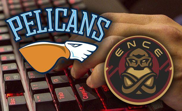 Pelicans aloittaa yhteistyön Encen kanssa.
