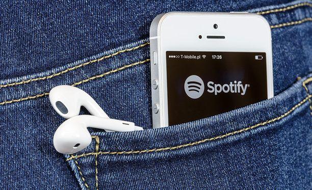 Spotify-vuodossa on mukana myös suomalaisia tunnuksia.