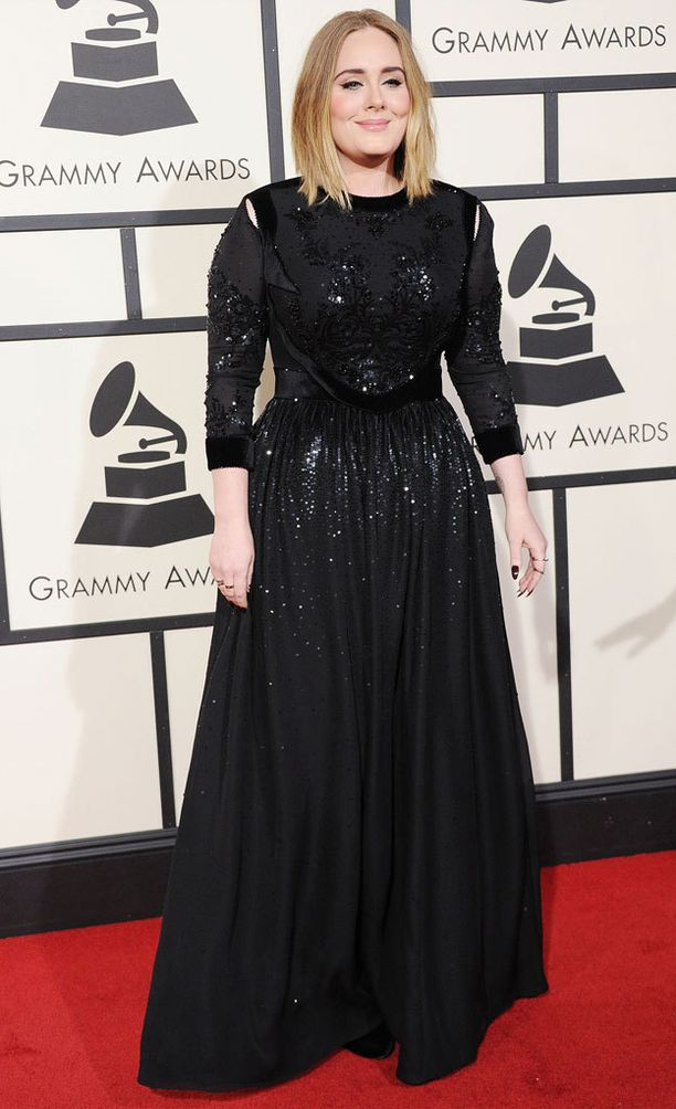 Laulaja suorastaan hehkui tällä viikolla Grammy-gaalan punaisella matolla.