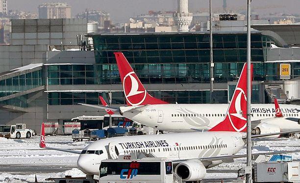 Kieltolistalla on myös Turkish Airlines, joka on valittu Euroopan parhaaksi lentoyhtiöksi.