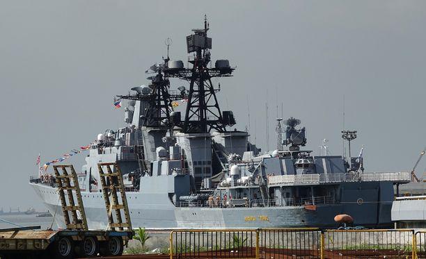 Venäjän laivaston kalustoa saapuu Itämerelle paraatiin ensi kesänä. Kuvituskuva.