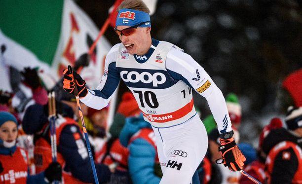 Iivo Niskanen eteni Lillehammerin sprintin välieriin.