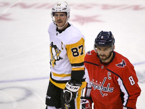 Sidney Crosby ja Aleksandr Ovetshkin ovat olleet NHL:n suurin taistelupari siitä lähtien, kun miehet aloittivat NHL:ssä.
