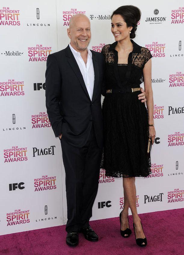 Bruce Willis ja Emma Heming.