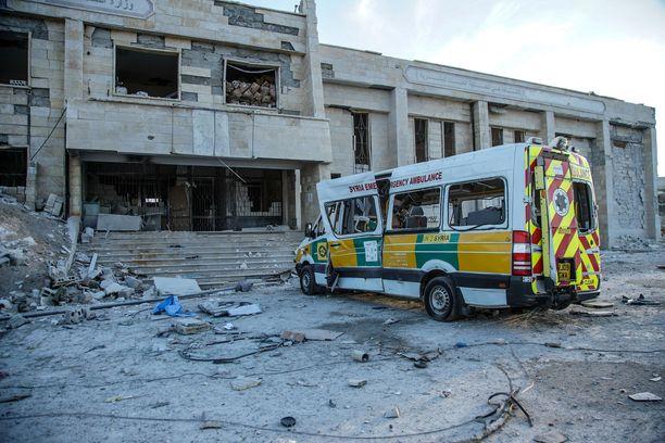 Kafr Nablin sairaala Idlibin maakunnassa oli ilmaiskujen kohteena 4. helmikuuta. Pommituksessa ei tullut uhreja, sillä sairaala evakuioitiin ennen pommitusta. Kyseinen pommitus ei ollut mukana New York Timesin tutkinnassa.