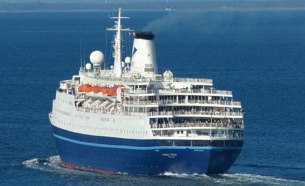 """Marco Polo tekee """"retroristeilyjä"""", alus on rakennettu alunperin Itä-Saksassa vuonna 1965."""