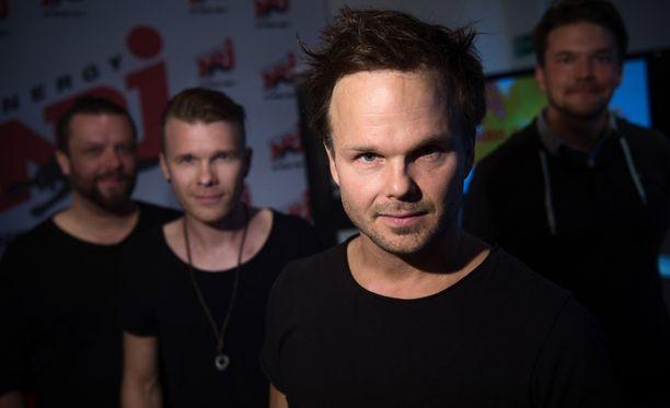 The Rasmus -yhtyeen jäsenet ovat kunnossa Meksikossa.