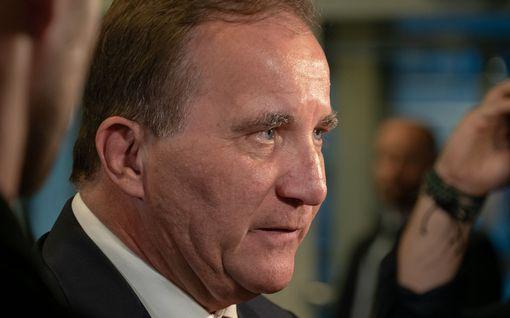 Pääministeri Stefan Löfven eroaa