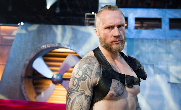 Hannes Hyvönen tunnetaan myös Gladiaattori Hurjana.
