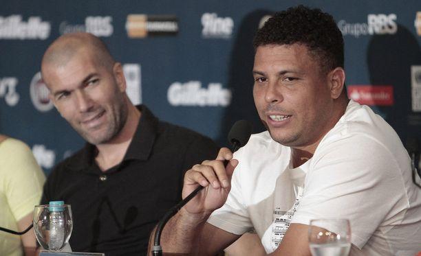 Zinedine Zidane ja Ronaldo ovat taas yhdessä Real Madridissa.