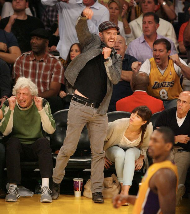 Justinin riemulla ei ollut rajoja, kun Lakersin voitto ratkesi.