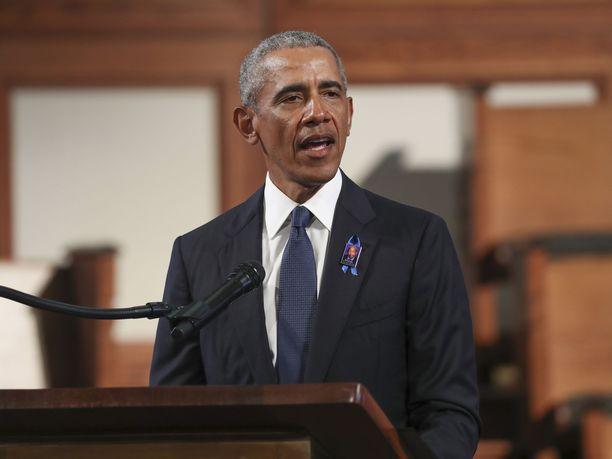 Yhdysvaltain entinen presidentti Barack Obama piti muistopuheen ihmisoikeusaktivisti, kongressiedustaja John Lewisin hautajaisissa.