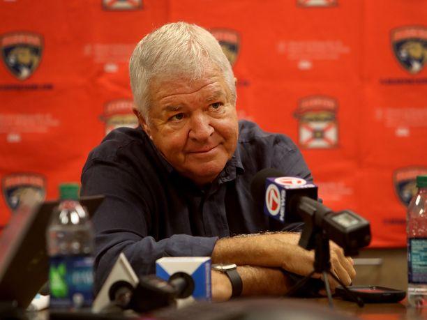 Dale Tallon johti Panthersia kymmenen vuoden ajan.